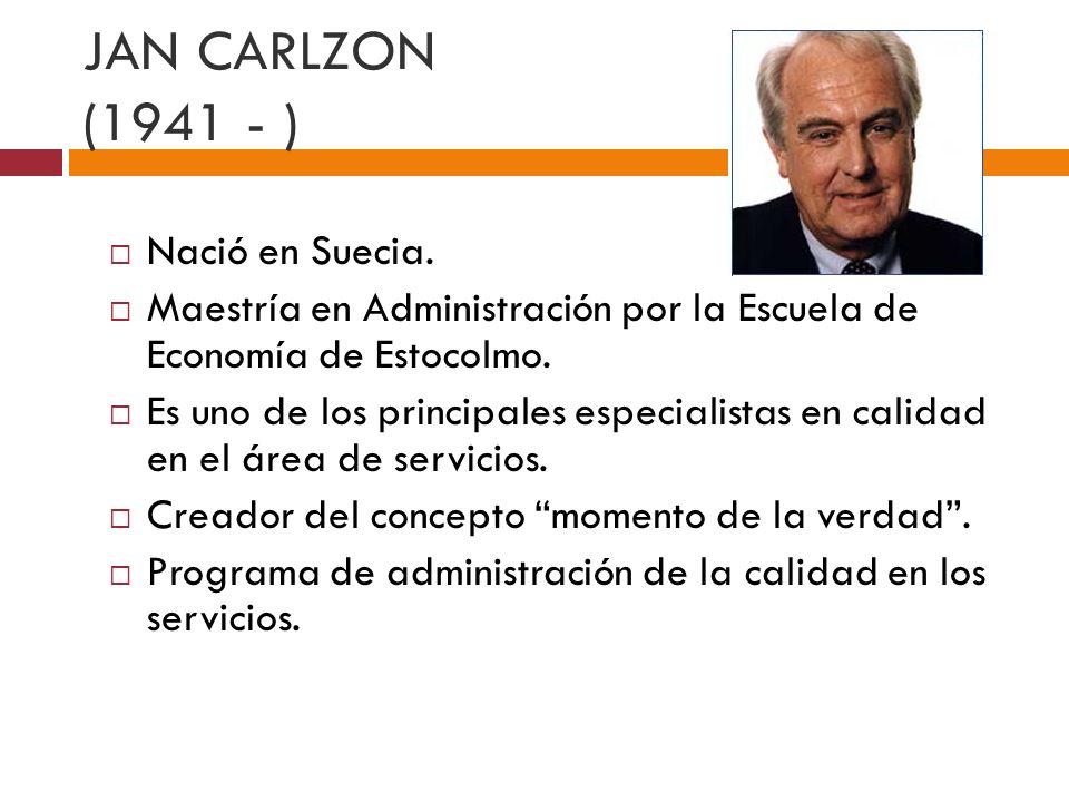 PUNTOS BÁSICOS DE CARLZON Momento de la verdad.