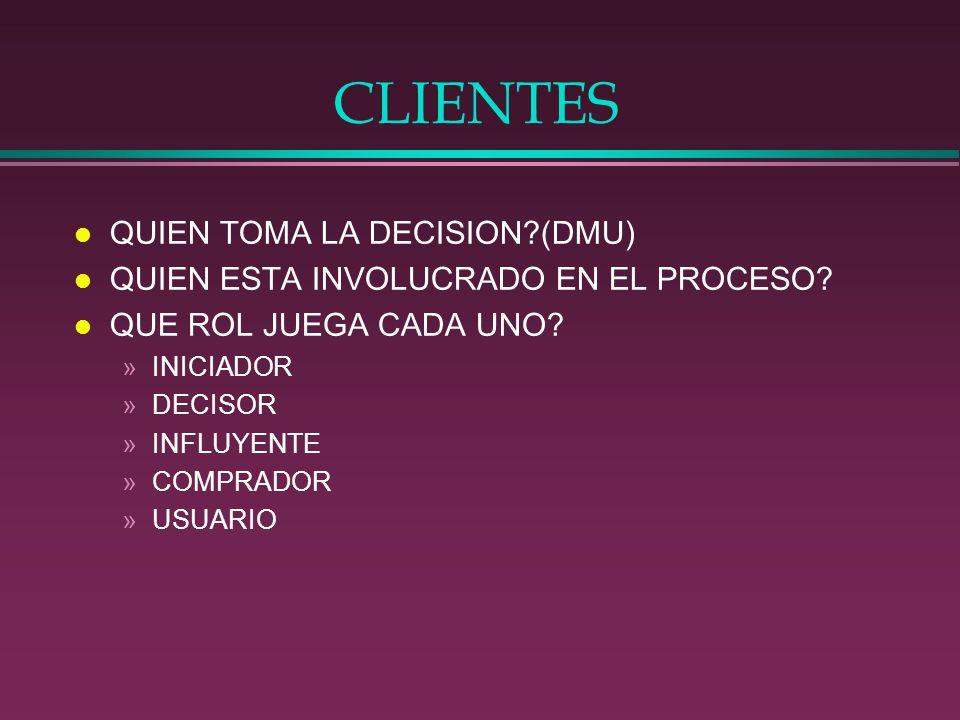 CLIENTES l PROCESO DECISORIO(DMP) »HAY BUSQUEDA DE INFORMACION.