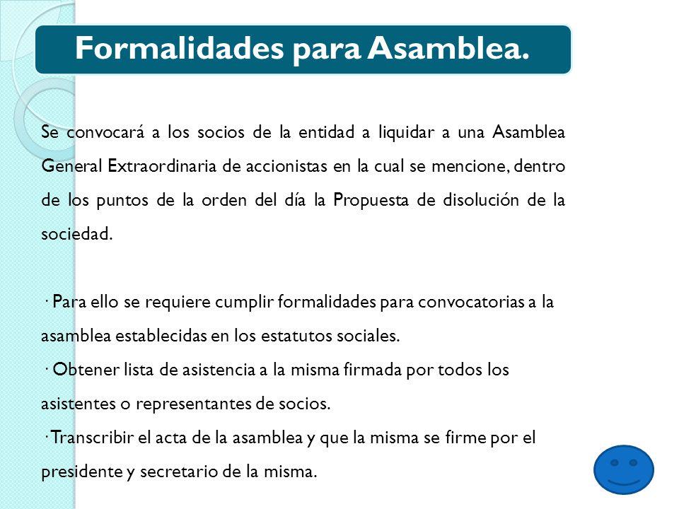 Orden del dia para asamblea SE REALIZA LA ASAMBLEA EXTRAORDINARIA DE ACCIONISTAS EN LA CUAL SE DESAHOGAN LOS PUNTOS DE:.