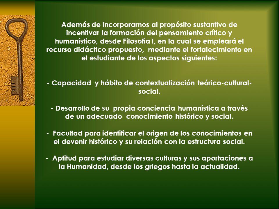 Consideraciones 1.