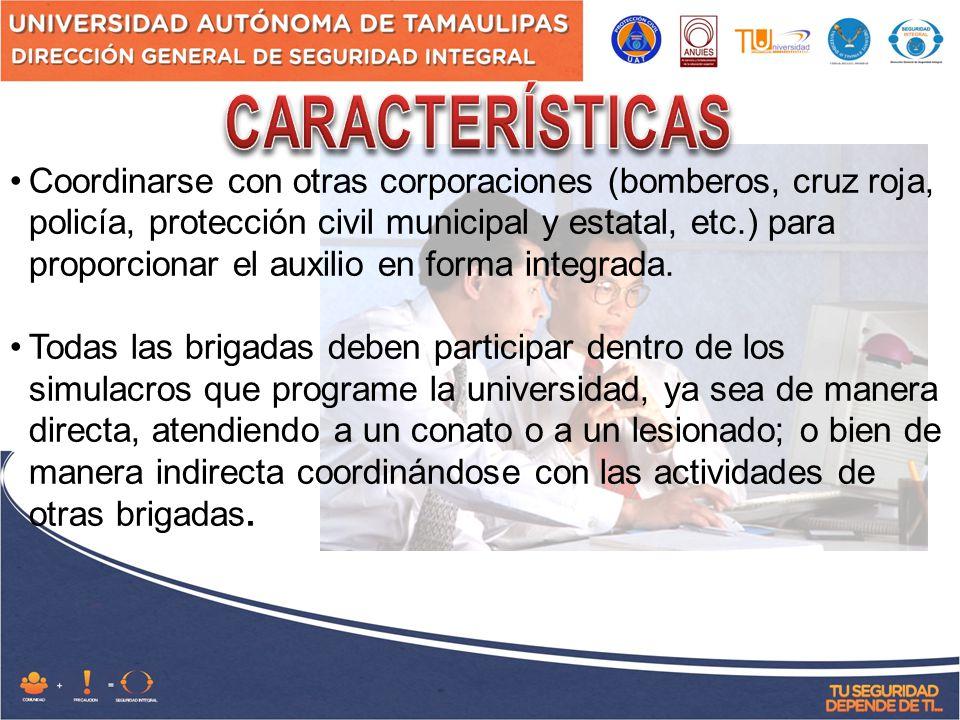 FASE DE AUXILIO: ZONA DE SEGURIDAD Identificar el código de alertamiento.