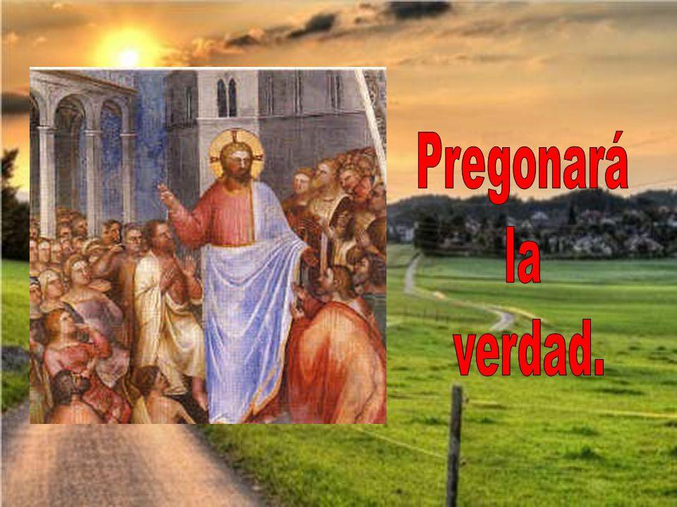 Vendrá el Señor con la aurora, él brillará en la mañana,