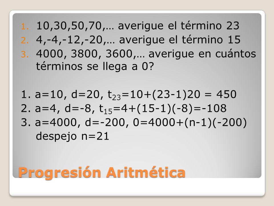 Progresiones Aritméticas y el Interés simple Ejemplo de AMORTIZACIÓN: El señor Muñoz pide prestado $5,000.