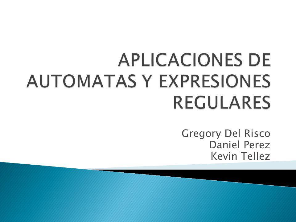 Los autómatas y las expresiones regulares tienen diversas aplicaciones en el ámbito de las ciencias de la computación como en la seguridad de redes, la generación de código, entre otros.