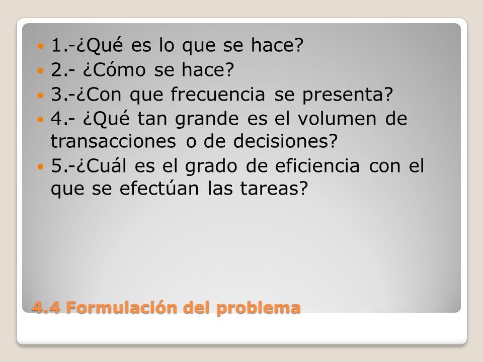 4.4 Formulación del problema 6.-¿Existe algún problema.