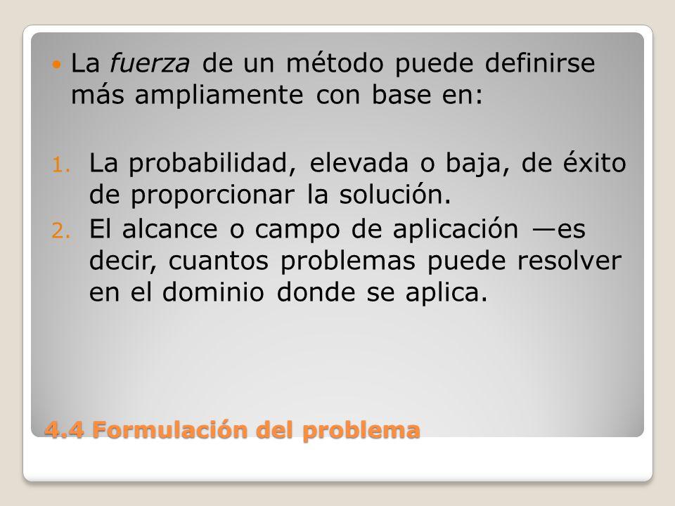 4.4 Formulación del problema 3.La calidad de las soluciones cuan próximo esta de lograr el Óptimo.
