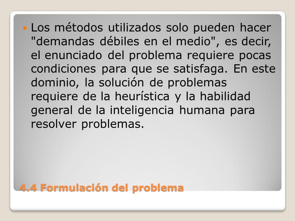 4.4 Formulación del problema 2.