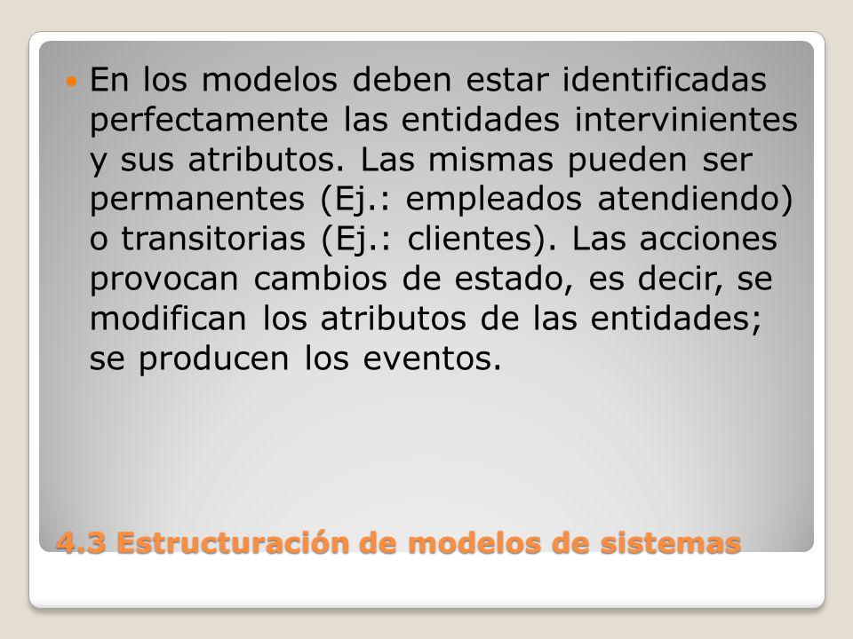 4.3 Estructuración de modelos de sistemas C.