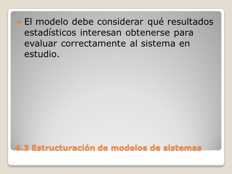 4.3 Estructuración de modelos de sistemas 2) Elección del método para realizar el estudio: Búsqueda de la herramienta analítica de resolución.