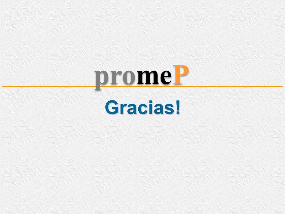 Gracias! promeP