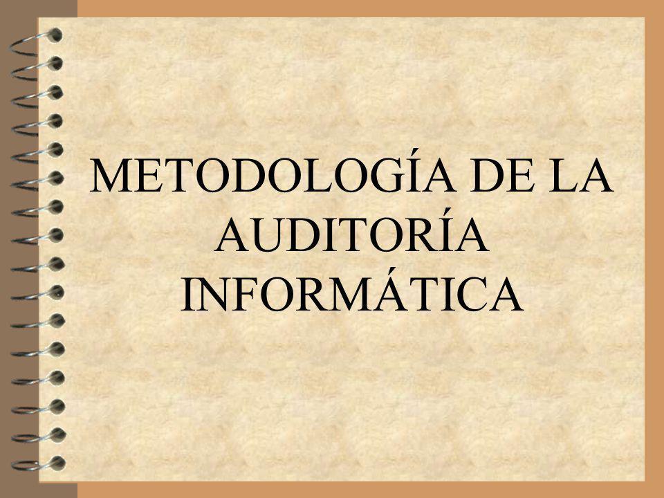 Metodología de la Auditoría Informática2 Fases de Metodología de Auditoría Informática 1.