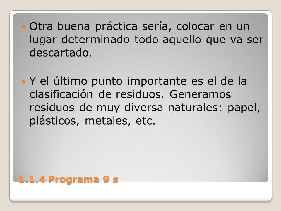 1.1.4 Programa 9 s Procedimiento 1.Planifique y controle permanentemente sus trabajos.