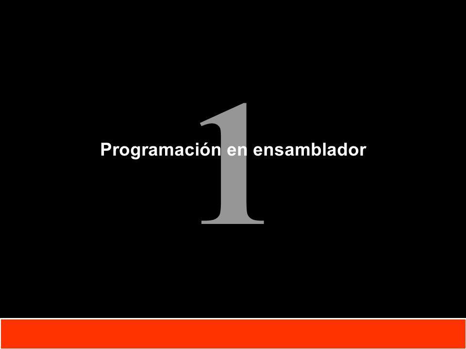 1 Copyright © Oracle Corporation, 2001. All rights reserved. Programación en ensamblador