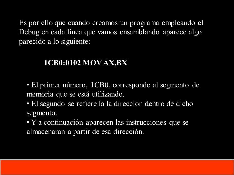 1-16 Copyright © Oracle Corporation, 2001. All rights reserved. Es por ello que cuando creamos un programa empleando el Debug en cada línea que vamos