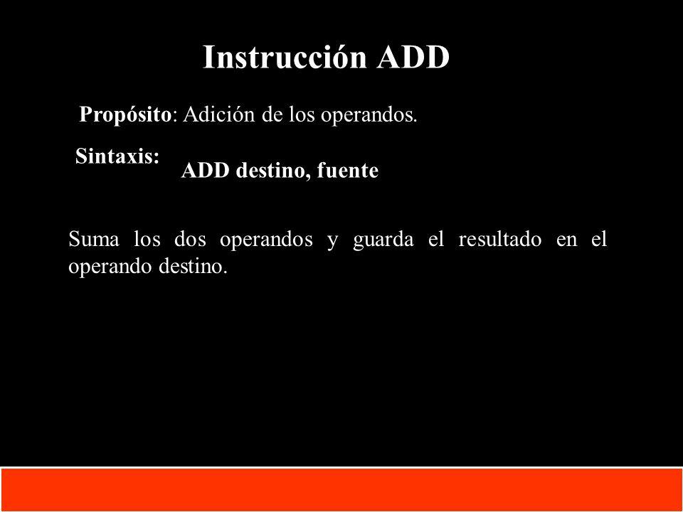 1-50 Copyright © Oracle Corporation, 2001. All rights reserved. Instrucción ADD Propósito: Adición de los operandos. Sintaxis: ADD destino, fuente Sum