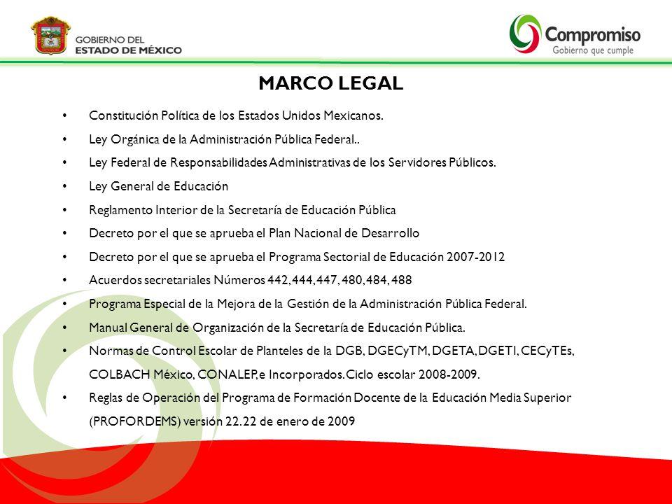 Constitución Política de los Estados Unidos Mexicanos. Ley Orgánica de la Administración Pública Federal.. Ley Federal de Responsabilidades Administra