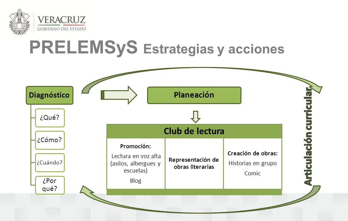 PRELEMSyS Estrategias y acciones Planeación