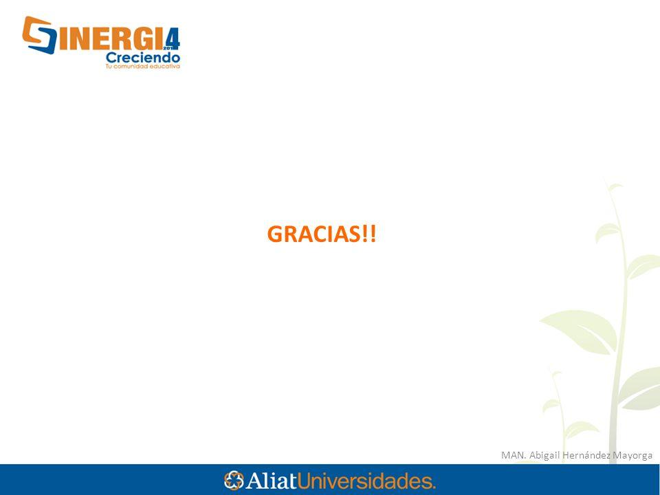 MAN. Abigail Hernández Mayorga GRACIAS!!