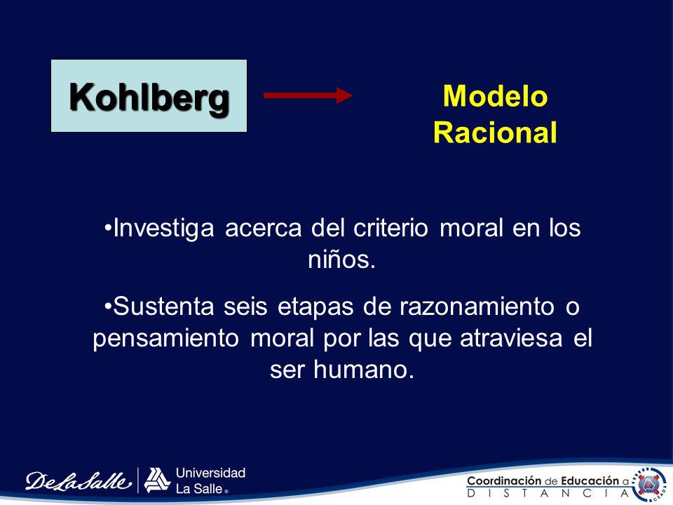 Moralidad de la cooperación De 11 a 12 años Se considera a las reglas como convenios pactados de consentimiento mutuo. Después de los 11 años, más o m