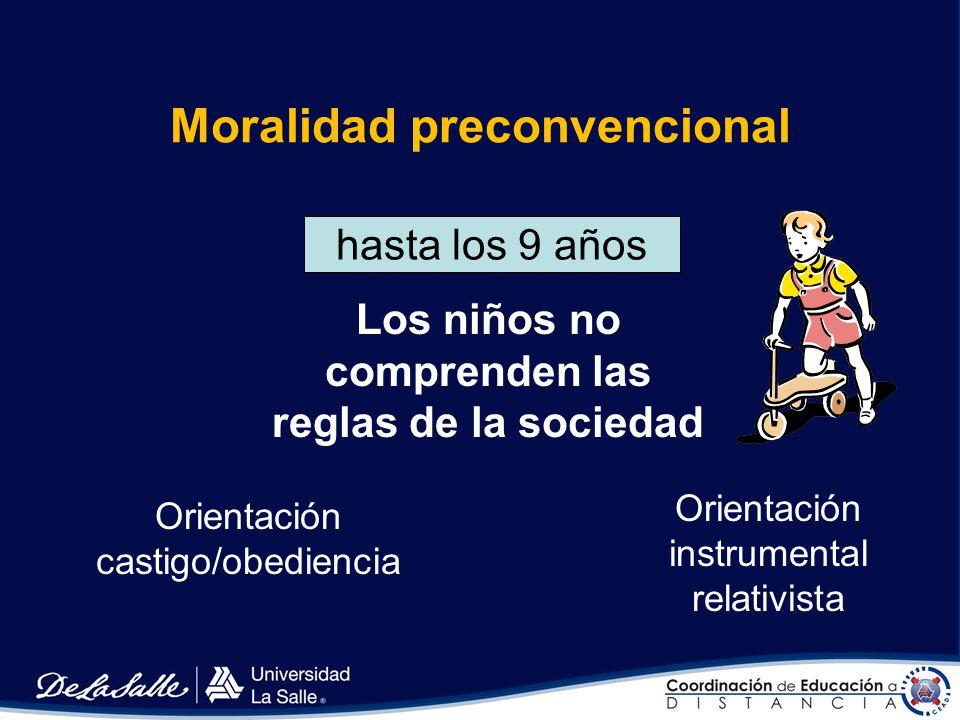 Kohlberg Modelo Racional Investiga acerca del criterio moral en los niños. Sustenta seis etapas de razonamiento o pensamiento moral por las que atravi
