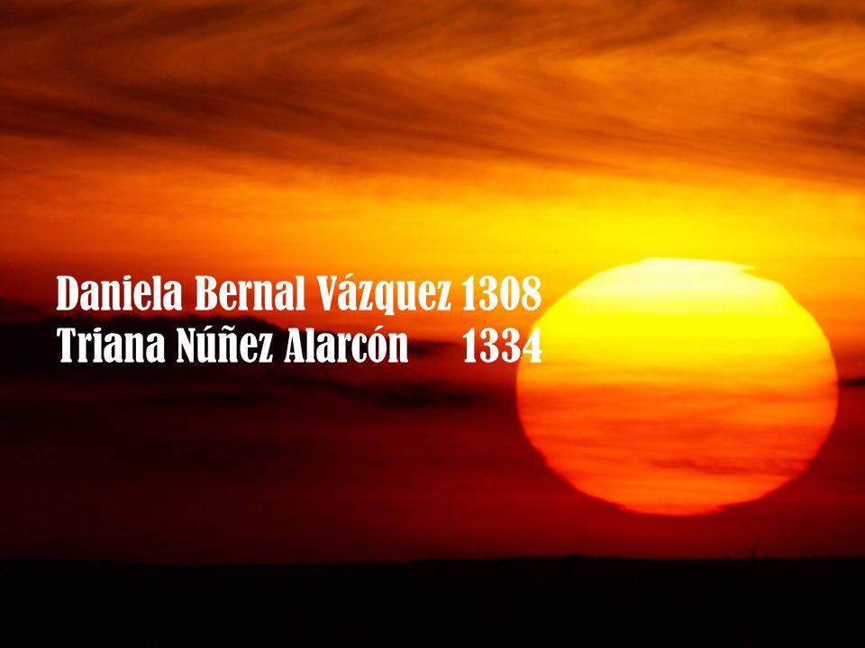 Daniela Bernal Vázquez 1308 Triana Núñez Alarcón 1334