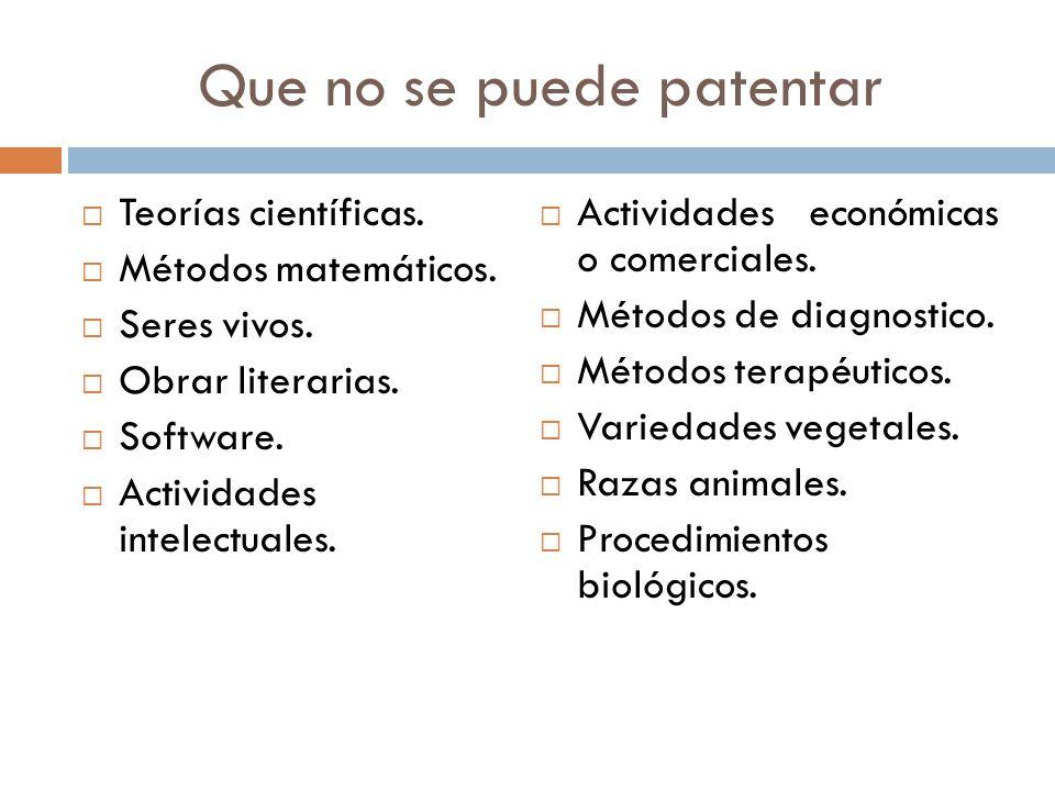 ¿Cómo se obtiene una patente internacional.NO existen patentes mundiales o internacionales.