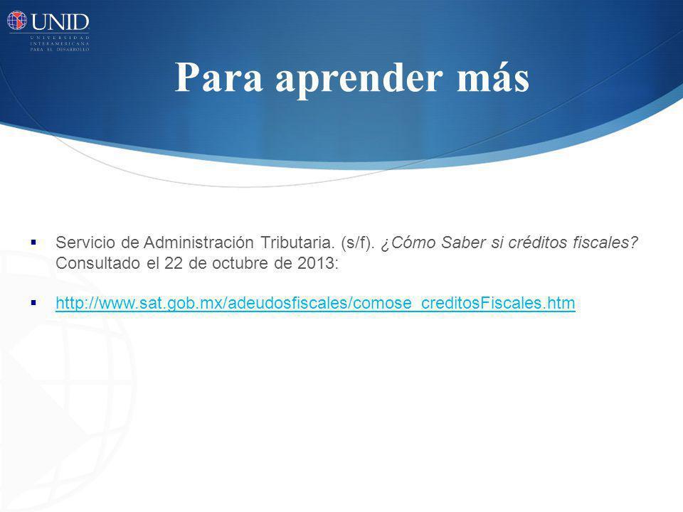 Cibergrafía Fernández, R.(1998). Derecho Fiscal.