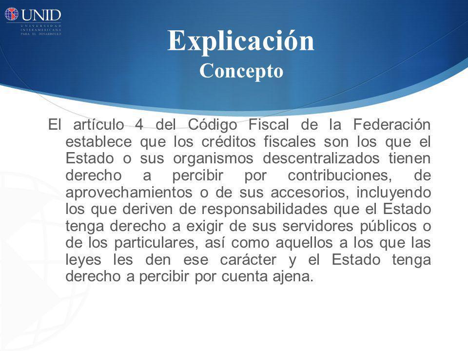 La determinación del crédito fiscal son las siguientes: El auto determinación que el contribuyente formula con elementos propios para el pago del crédito a su cargo mediante la declaración.