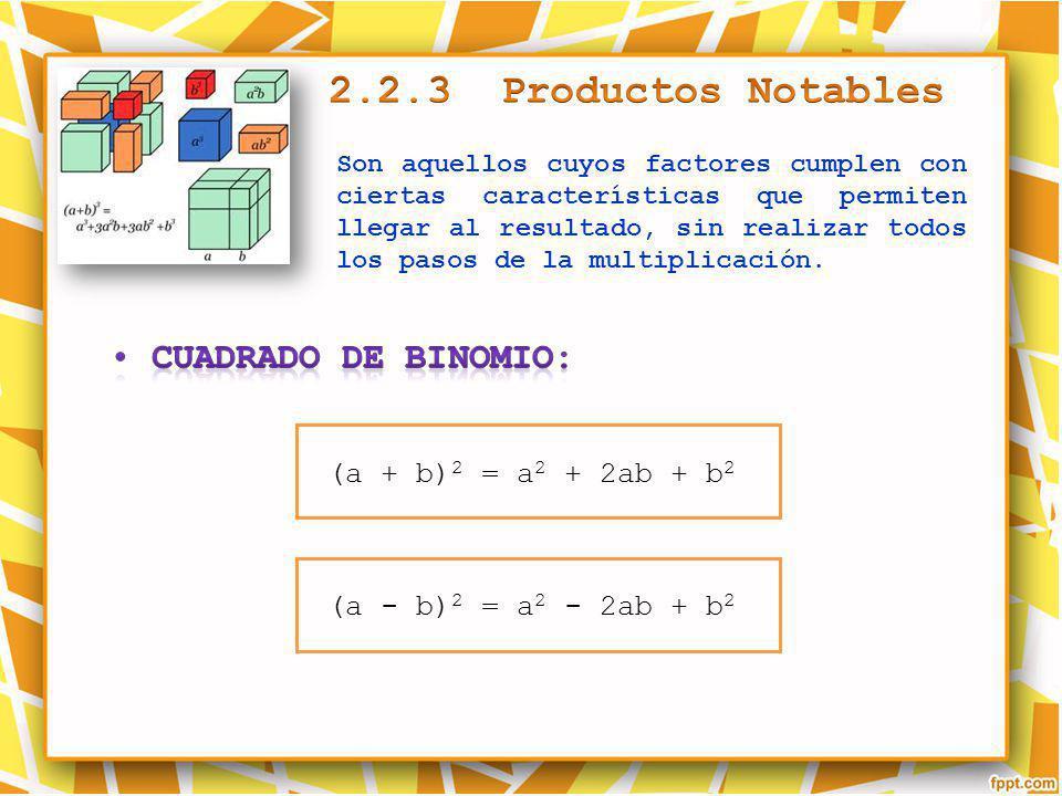 Son aquellos cuyos factores cumplen con ciertas características que permiten llegar al resultado, sin realizar todos los pasos de la multiplicación. (