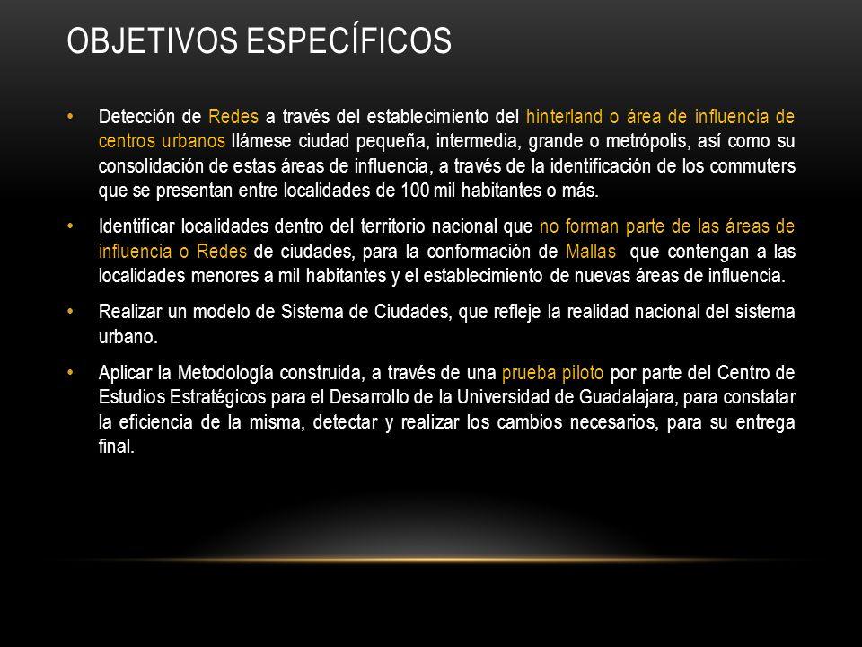 POLÍTICAS PUBLICAS Y PROGRAMAS RELACIONADOS CON LA CONCENTRACIÓN Y DISPERSIÓN DE POBLACIÓN.