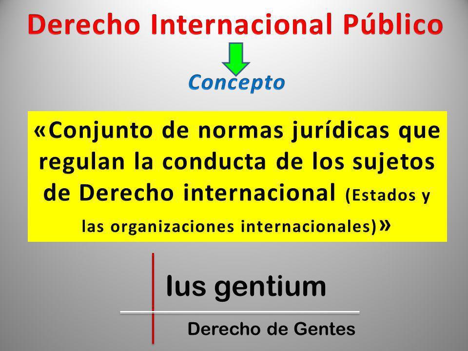 Ius gentium Derecho de Gentes