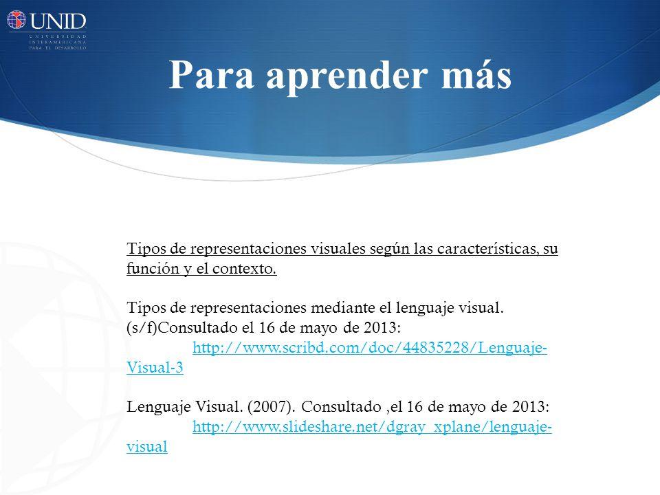 Bibliografía Acaso, M.(2006). El Lenguaje Visual.