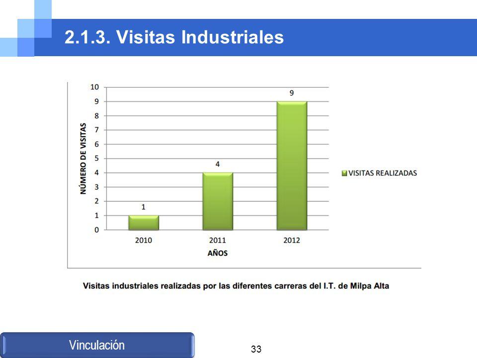 2.1.3. Visitas Industriales Vinculación 33