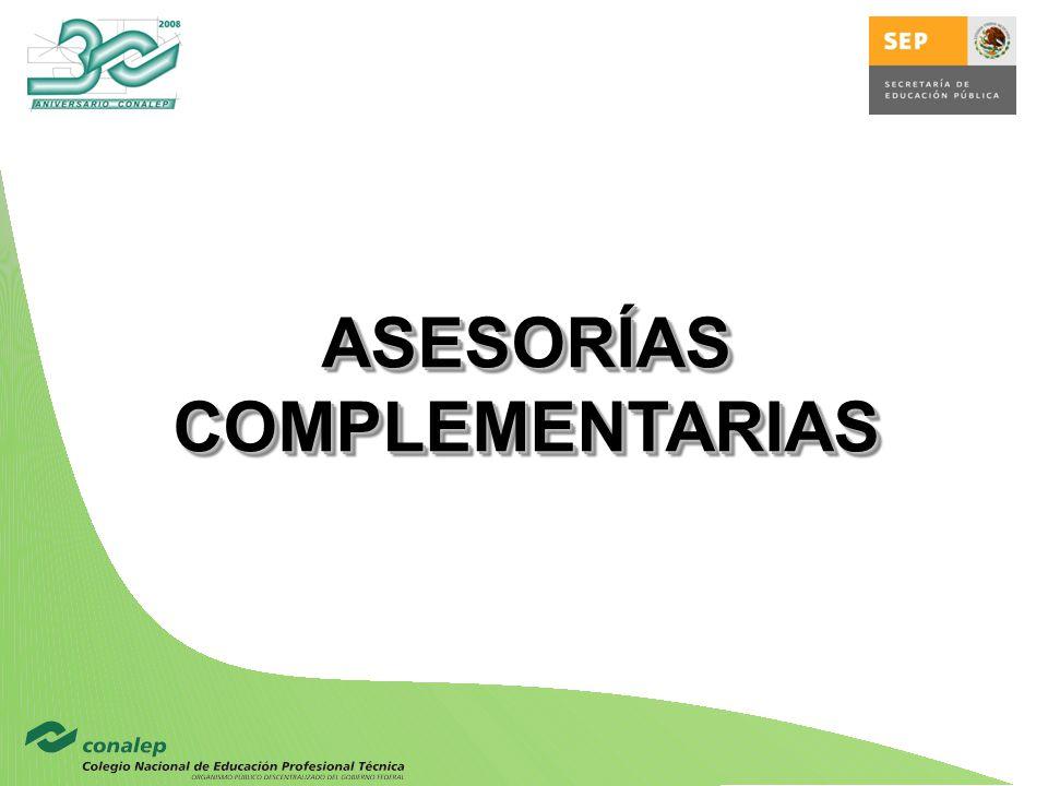 ASESORÍAS COMPLEMENTARIAS