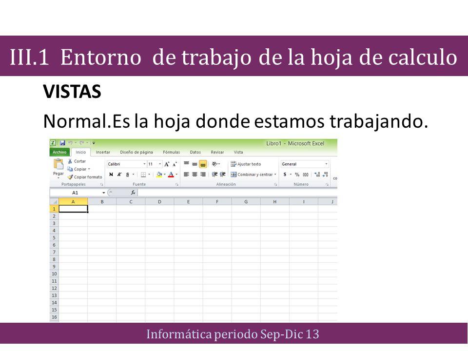 Objetivo: Explicar los procedimientos de manipulación, tratamiento de datos y creación de fórmulas en una hoja de cálculo.