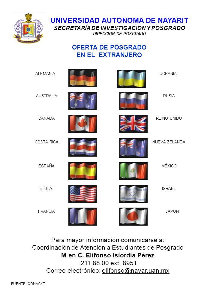 ALEMANIA AUSTRALIA CANADÁ COSTA RICA ESPAÑA E.U. A.