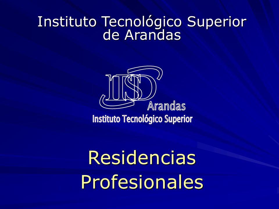 ResidenciasProfesionales Instituto Tecnológico Superior de Arandas