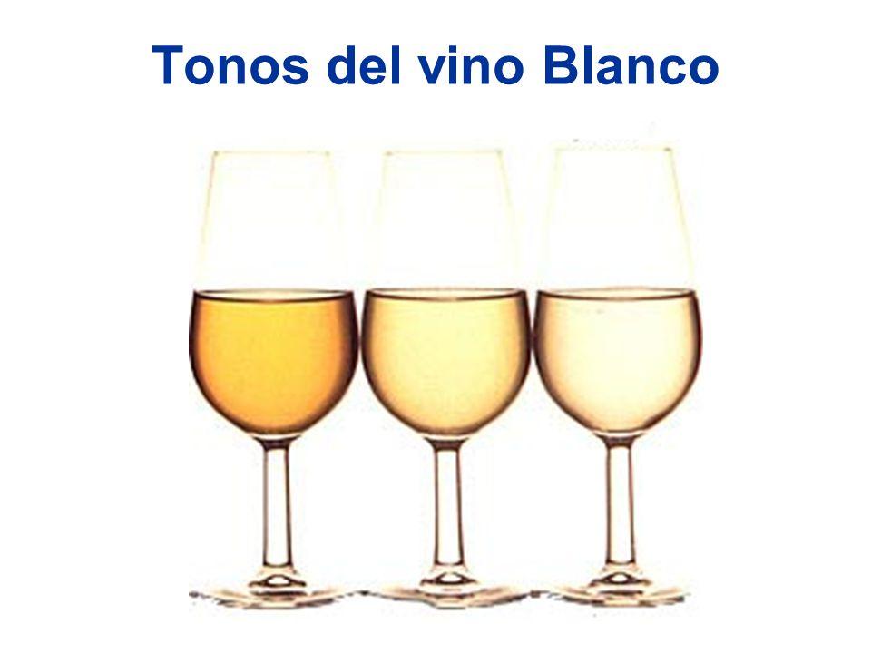 Tonos del vino Blanco