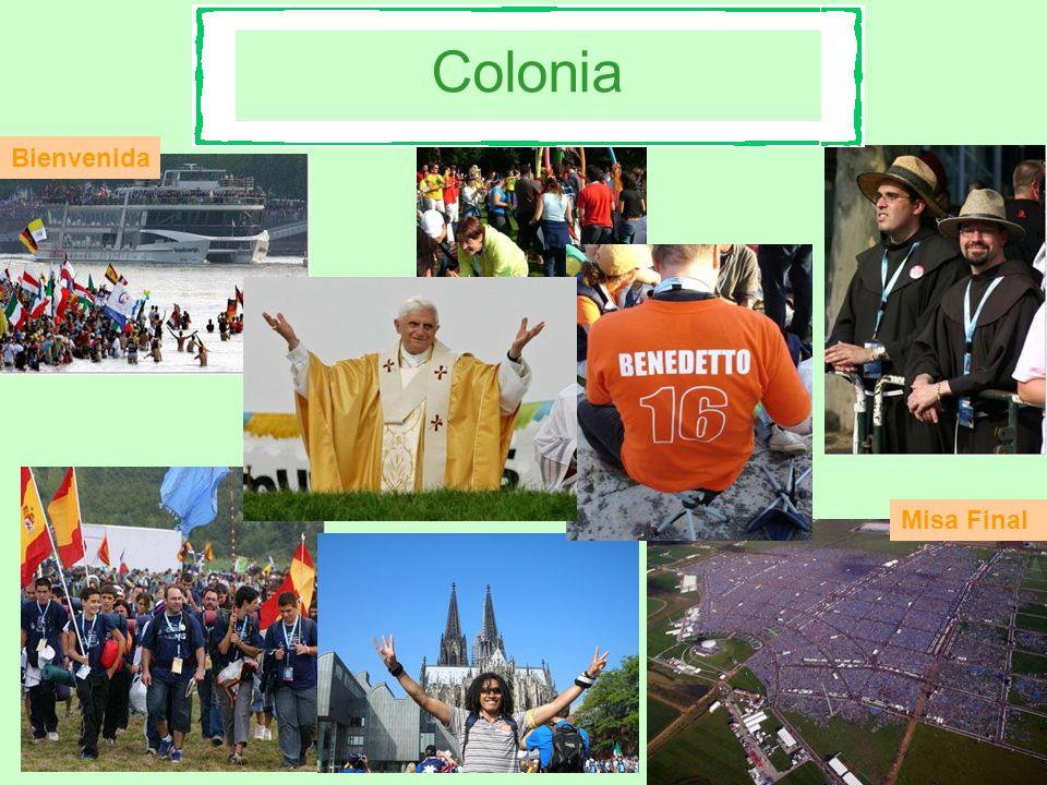 Colonia Bienvenida Misa Final