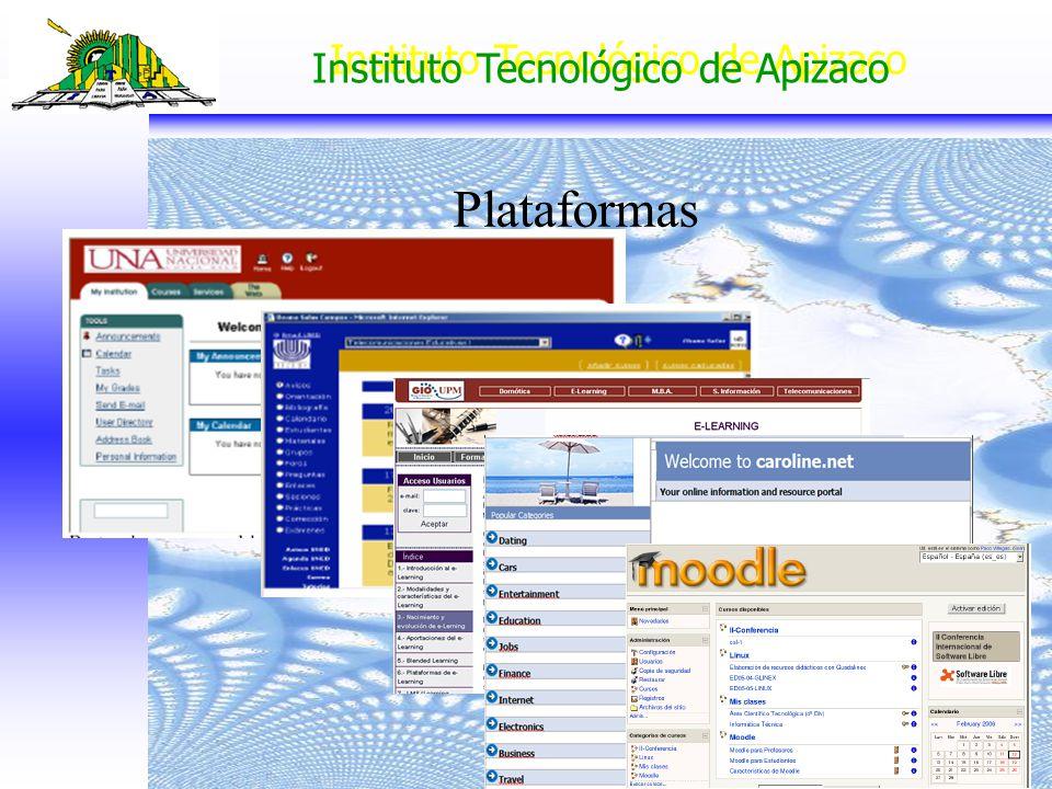 Instituto Tecnológico de Apizaco Plataformas