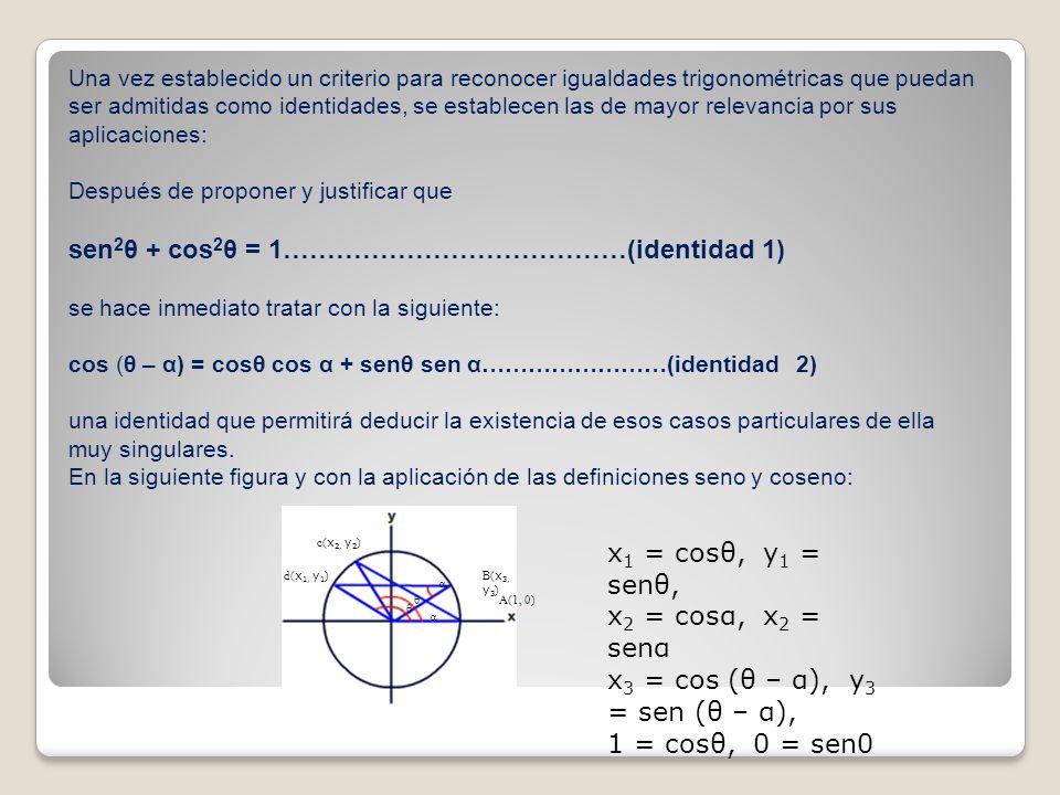 Como la longitud del arco ABC es la misma que la del arco dCB, en el mismo círculo; por principios geométricos admitimos que las longitudes de sus correspondientes cuerdas serán iguales.