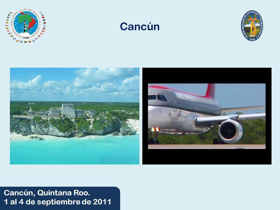 06/06/2014 Cancún, Quintana Roo. 1 al 4 de septiembre de 2011 Sede Hilton Cancún Golf & Spa Resort