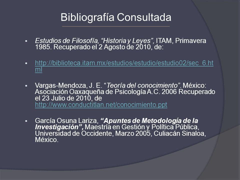 Estudios de Filosofía, Historia y Leyes, ITAM, Primavera 1985. Recuperado el 2 Agosto de 2010, de: http://biblioteca.itam.mx/estudios/estudio/estudio0