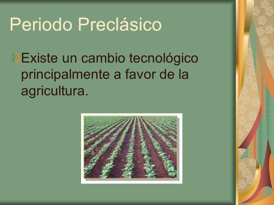 Agricultura Se construyen los primeros sistemas de irrigación o de control de aguas.