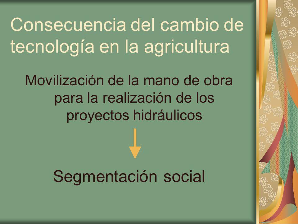 Diferenciación social Propiciada principalmente por la división del trabajo.