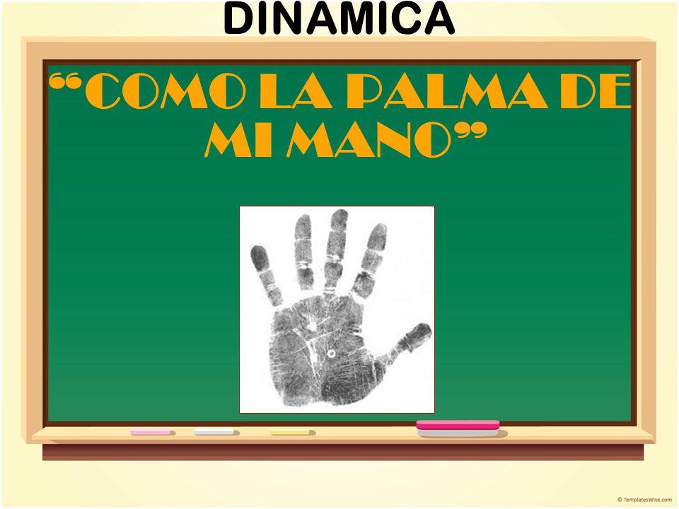 INSTRUCCIONES Dibuja tu mano izquierda en la hoja.