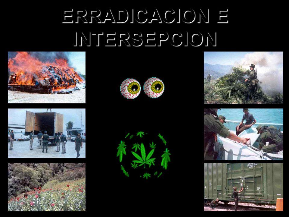 ERRADICACION E INTERSEPCION