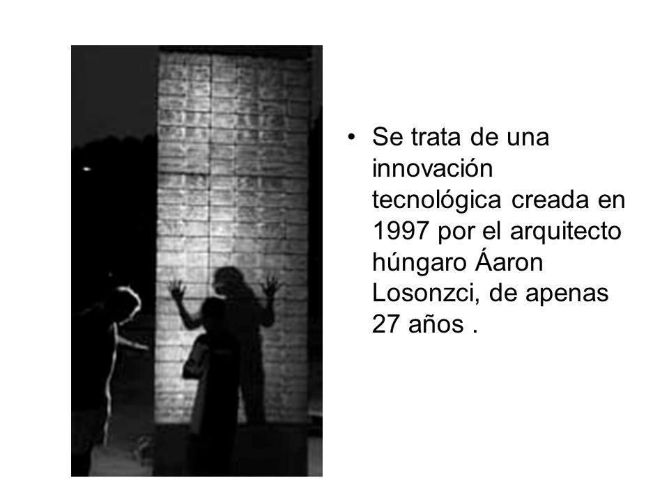 Se trata de una innovación tecnológica creada en 1997 por el arquitecto húngaro Áaron Losonzci, de apenas 27 años.