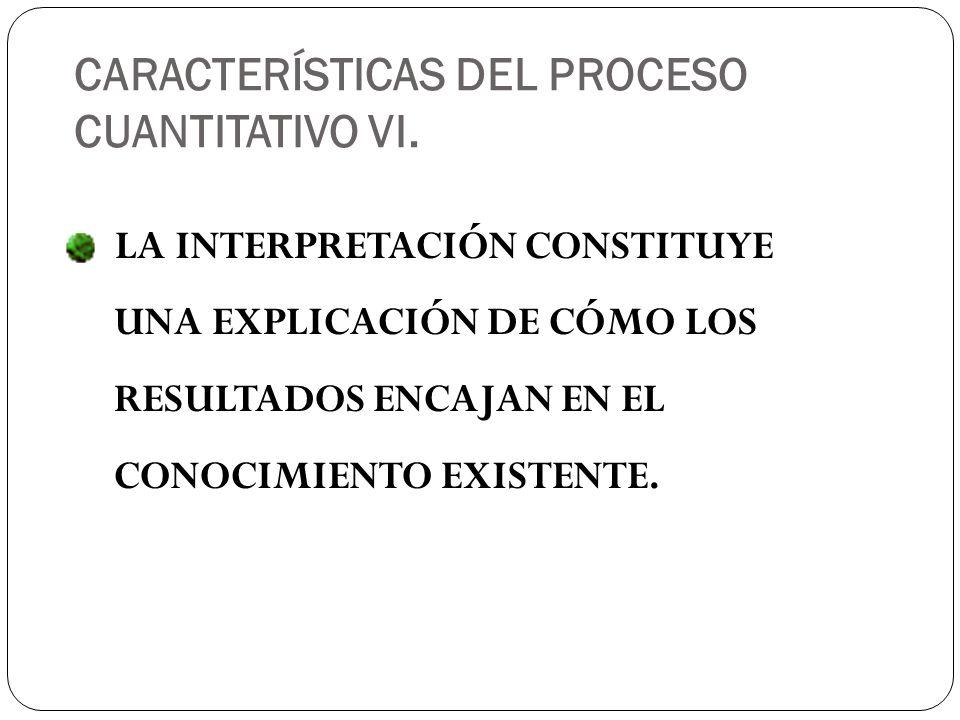 LA INTERPRETACIÓN CONSTITUYE UNA EXPLICACIÓN DE CÓMO LOS RESULTADOS ENCAJAN EN EL CONOCIMIENTO EXISTENTE.