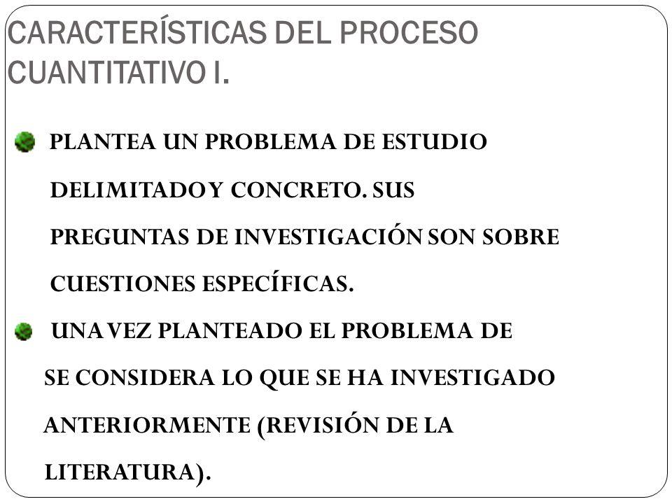 PLANTEA UN PROBLEMA DE ESTUDIO DELIMITADO Y CONCRETO.